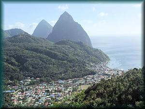 St Lucia_Pitons